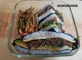 먹다 남은 불고기 활용! 김밥 샌드위치