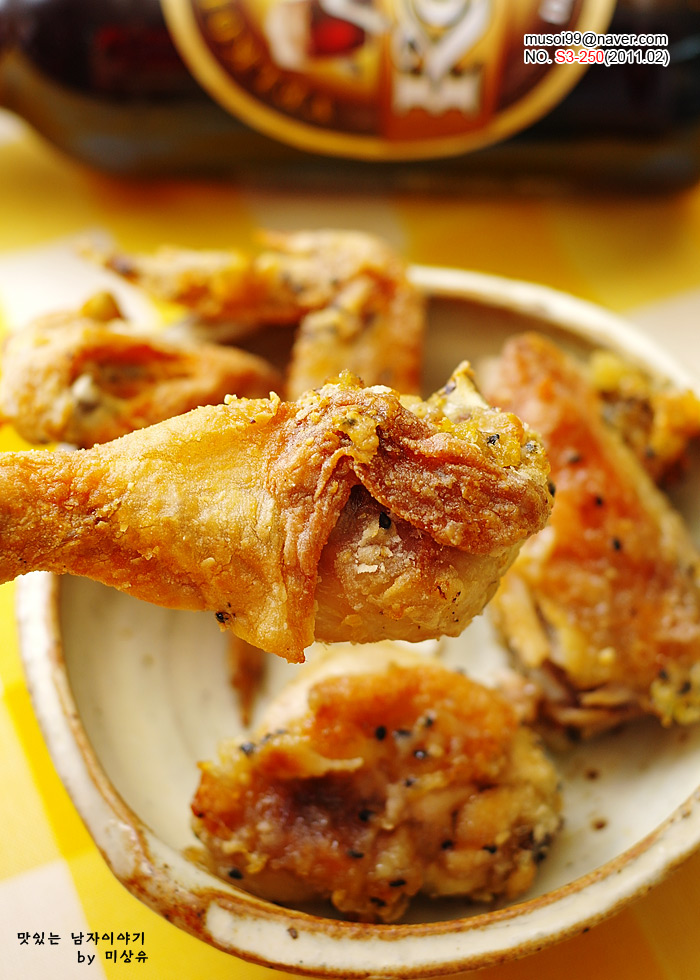 [후라이드/구운치킨]아이들 간식으로 좋은 오븐 후라이드 치킨