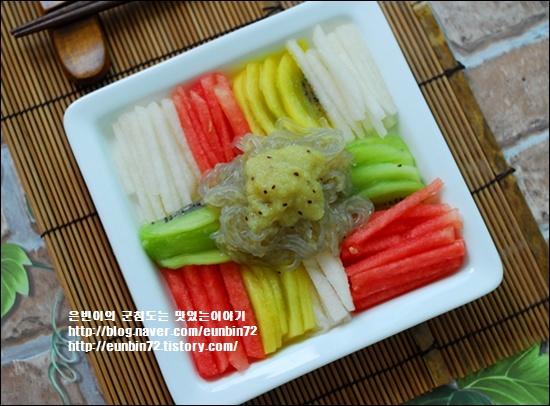 키위 냉잡채 ♬ 여름과일을 먹는 색다른 즐거움 ^^*