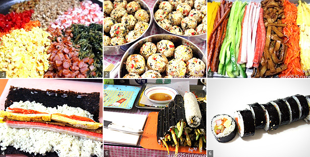 [요리고수의 도시락] 시래기 주먹밥, 나들이 김밥 도시락